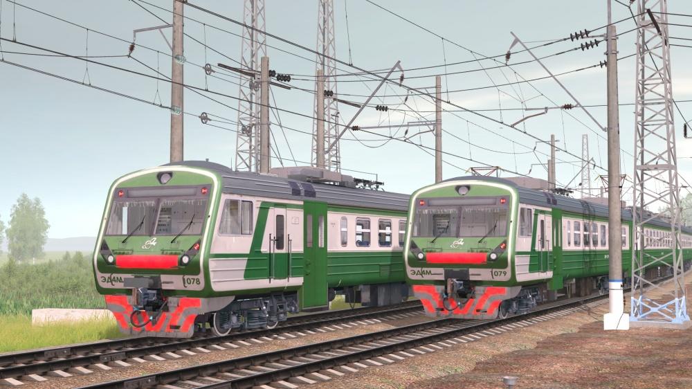 TRS: ЭД4М-1078 & 1079 (ВЫМЫШЛЕННЫЕ)