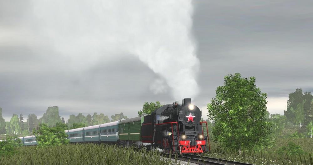 TRS: Паровоз Л-5248